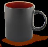 Mug noir et rouge