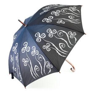 """Parapluie """"Le triskell est une fleur bretonne"""""""