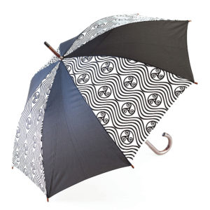 Parapluie triskell vague