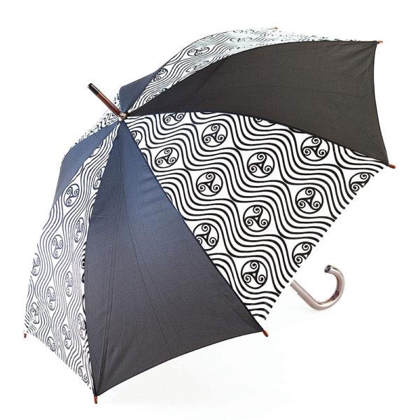 Parapluie triskell vague