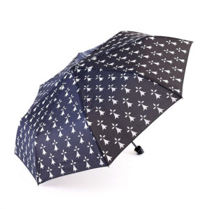 Parapluie pliant renforcé hermines