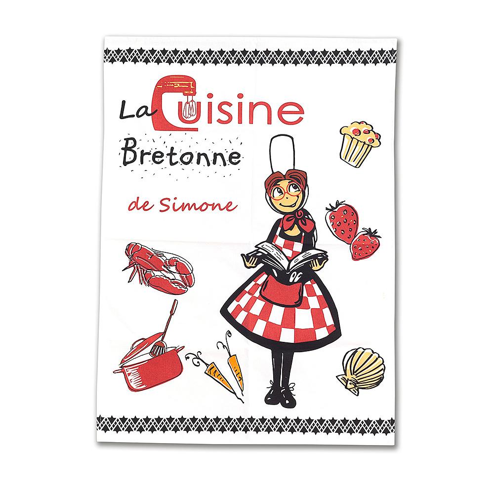 Torchon de cuisine simone l 39 objet original pour prendre vos plats sans risques de br lures - Torchon cuisine original ...