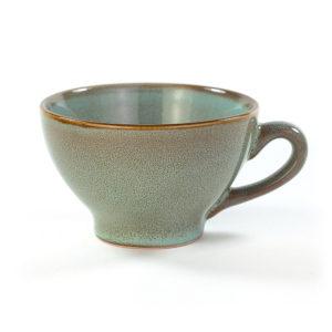 Bolée vert de gris