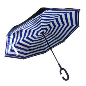 parapluie-mariniere-bleue-ouvert
