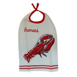 bavoir-homard